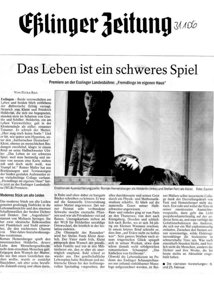 Fremdlinge_Kritik