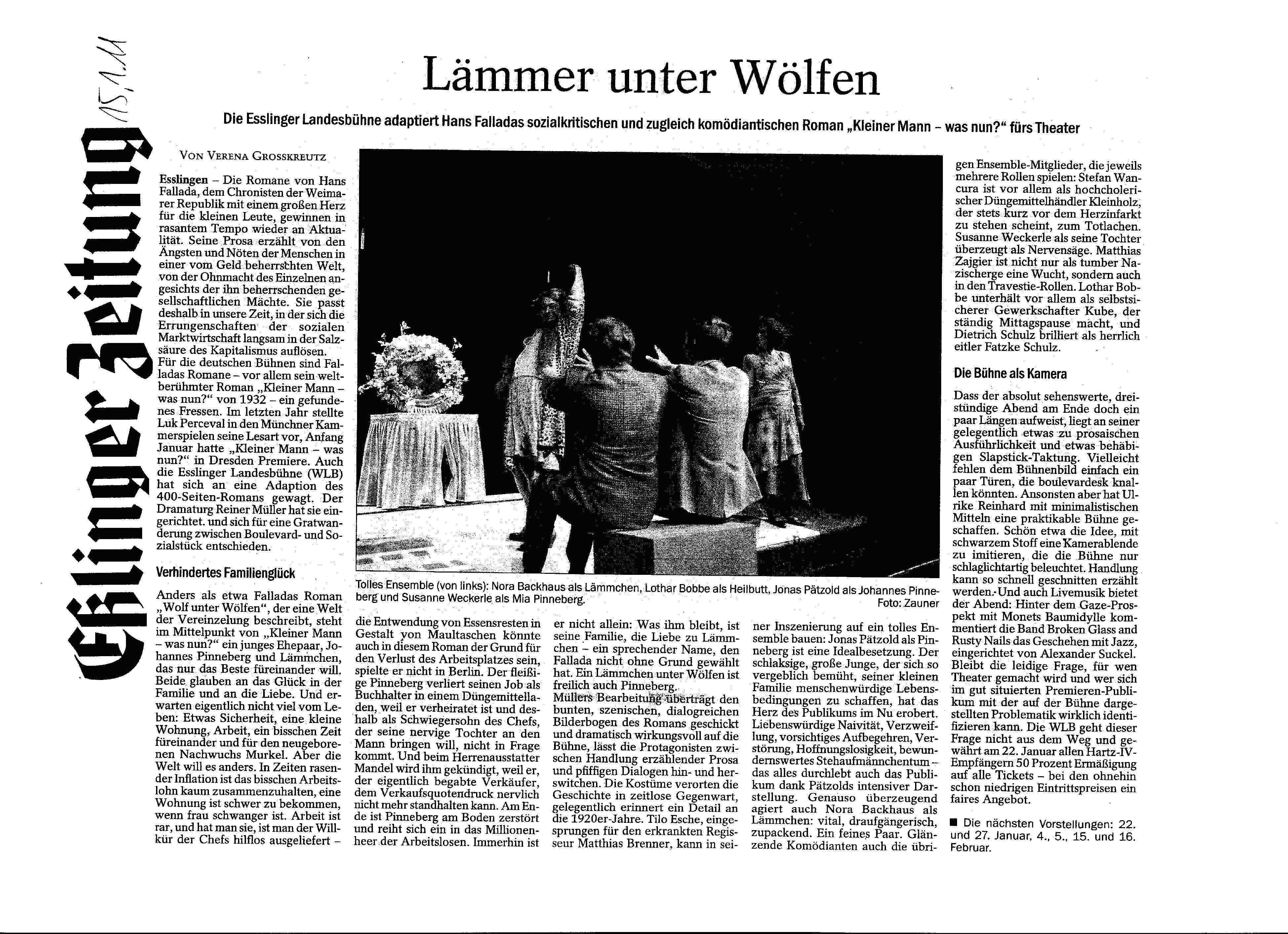 Kritik Esslinger Zeitung Kopie